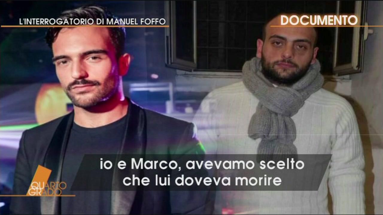 L'agghiacciante interrogatorio a Manuel Foffo