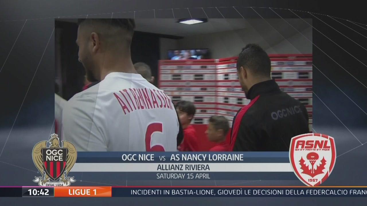 OGC Nice-AS Nancy Lorraine 3-1