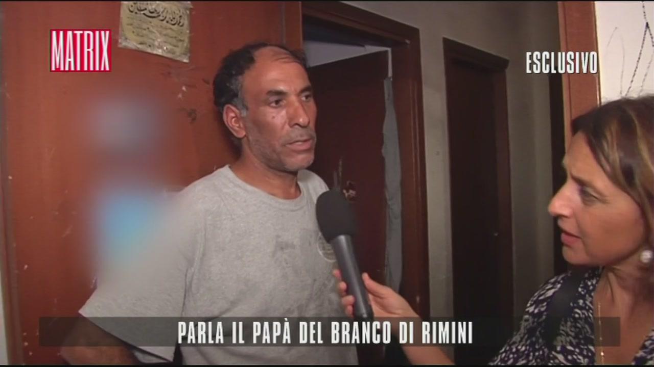Parla il papà del branco di Rimini