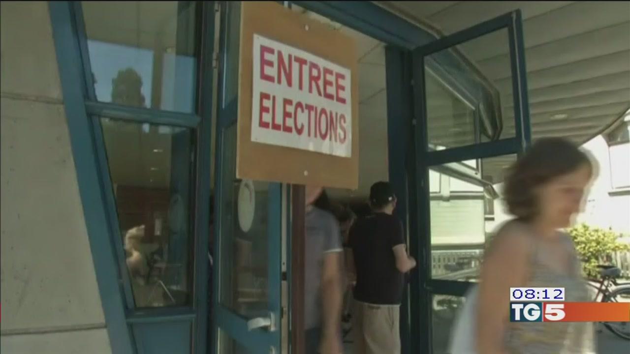 Francia al voto