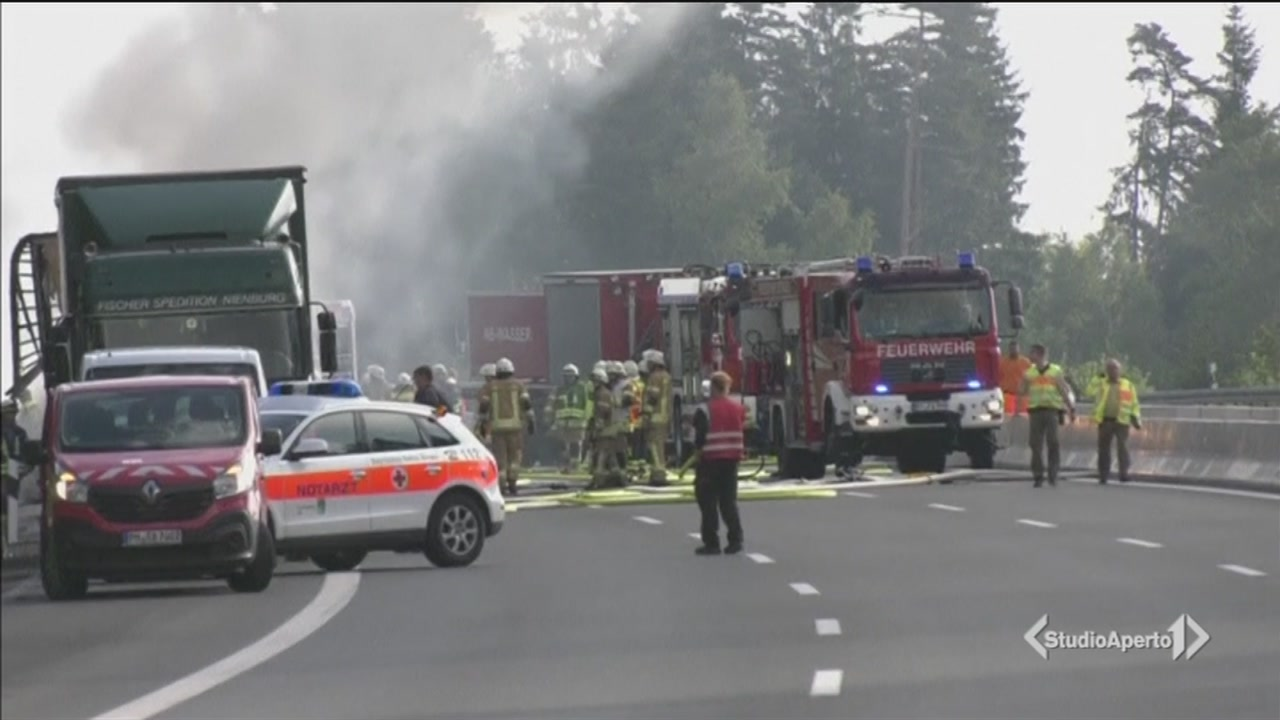 Tragedia in Baviera, 18 vittime