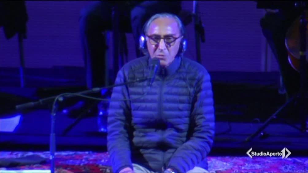 Franco Battiato ospite allo IULM di Milano