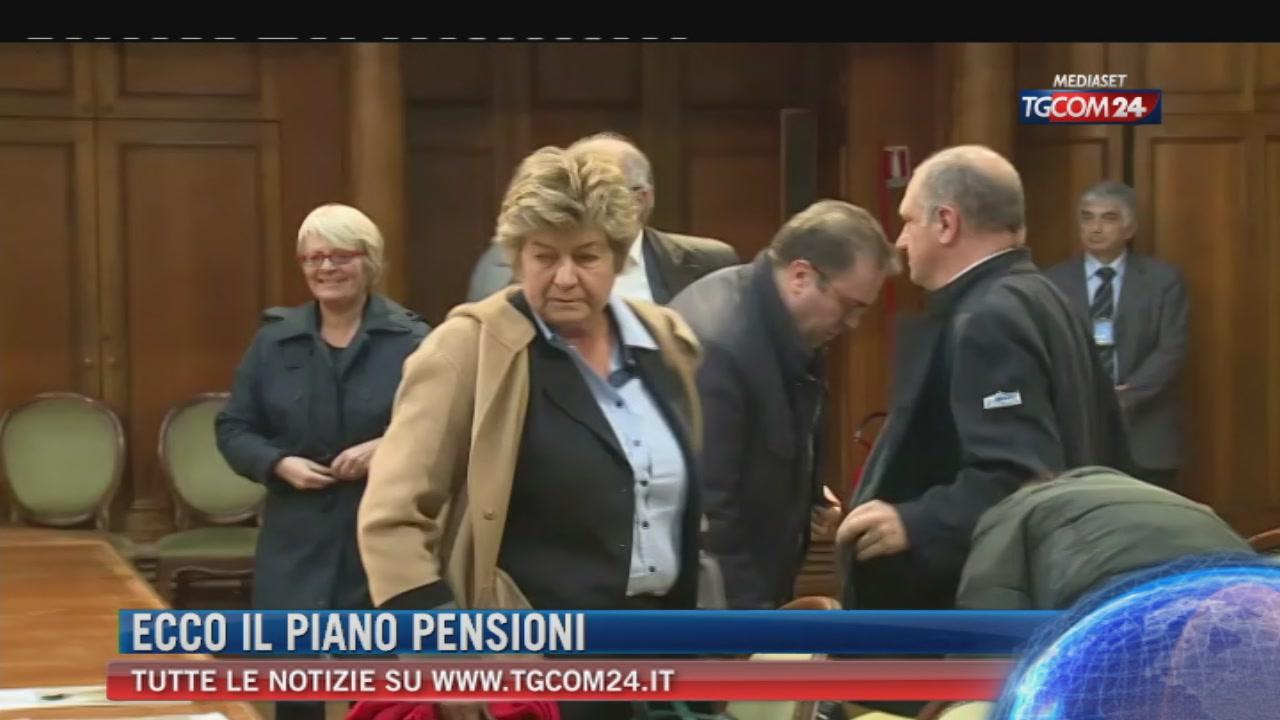 Pensioni, piano in sette punti del governo: costa 300 milioni