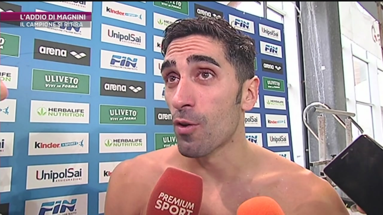Nuoto: Magnini dice basta