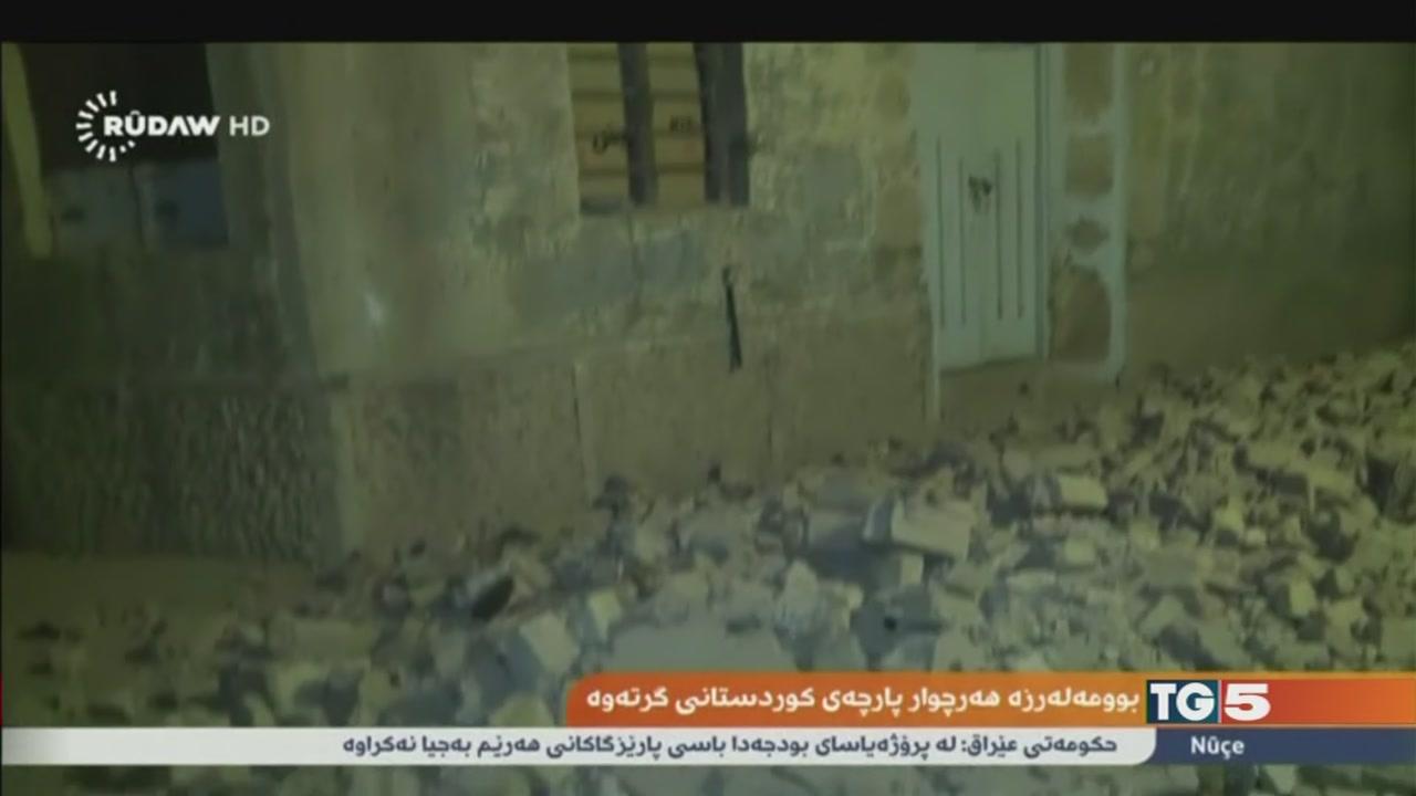 Sisma in Iraq e Iran, centinaia di morti