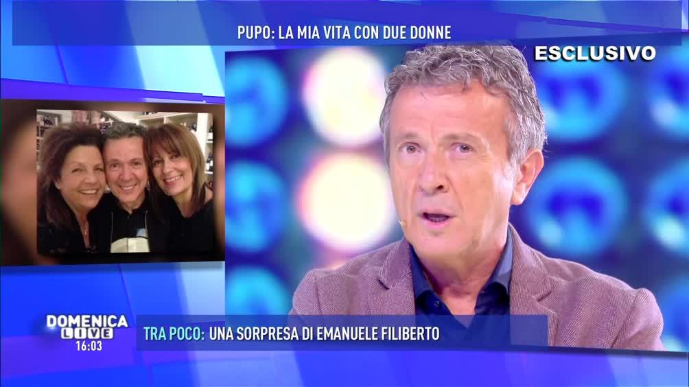 Barbara D'Urso incontra Pupo