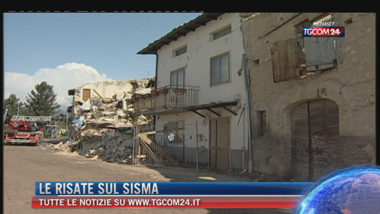 Terremoto: Amatrice come L'Aquila, c'è l'imprenditore che ride