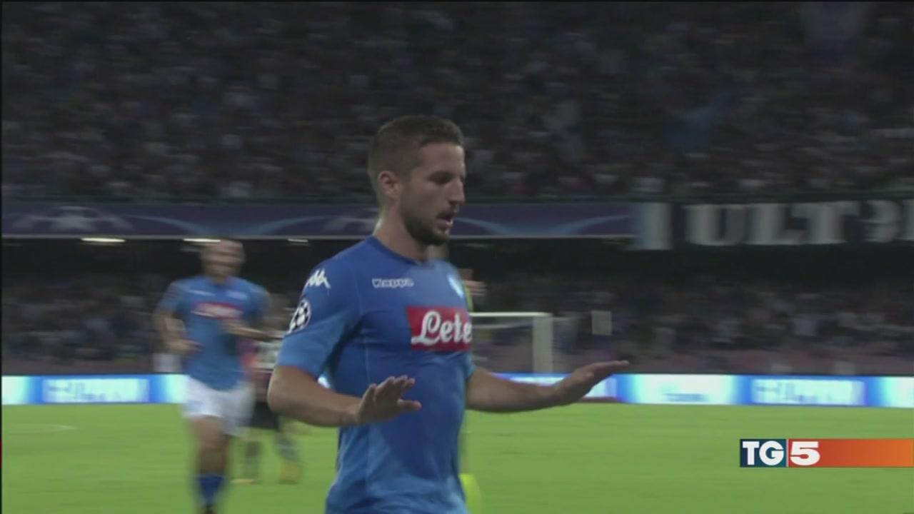 Napoli, avanti così Il Milan su Canale 5