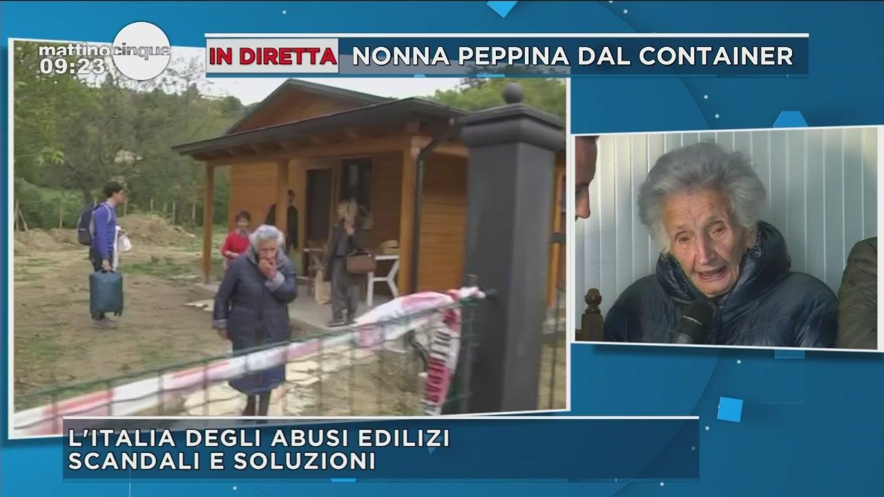Nonna Peppina lascia la casa