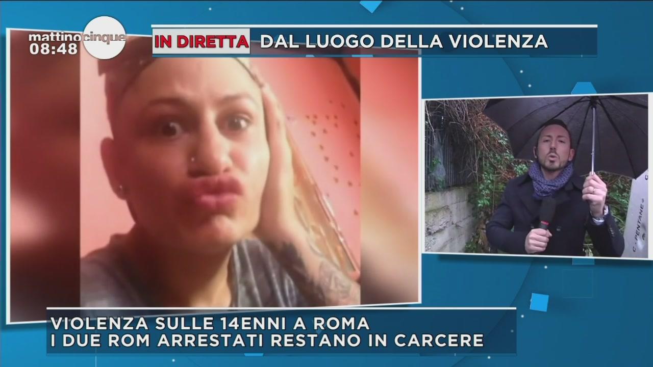 Ragazza stuprata a Roma