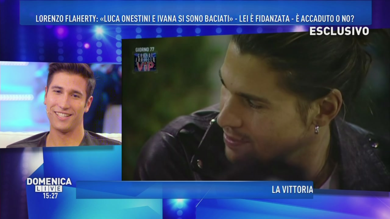 Luca e Ivana, love is in the air?