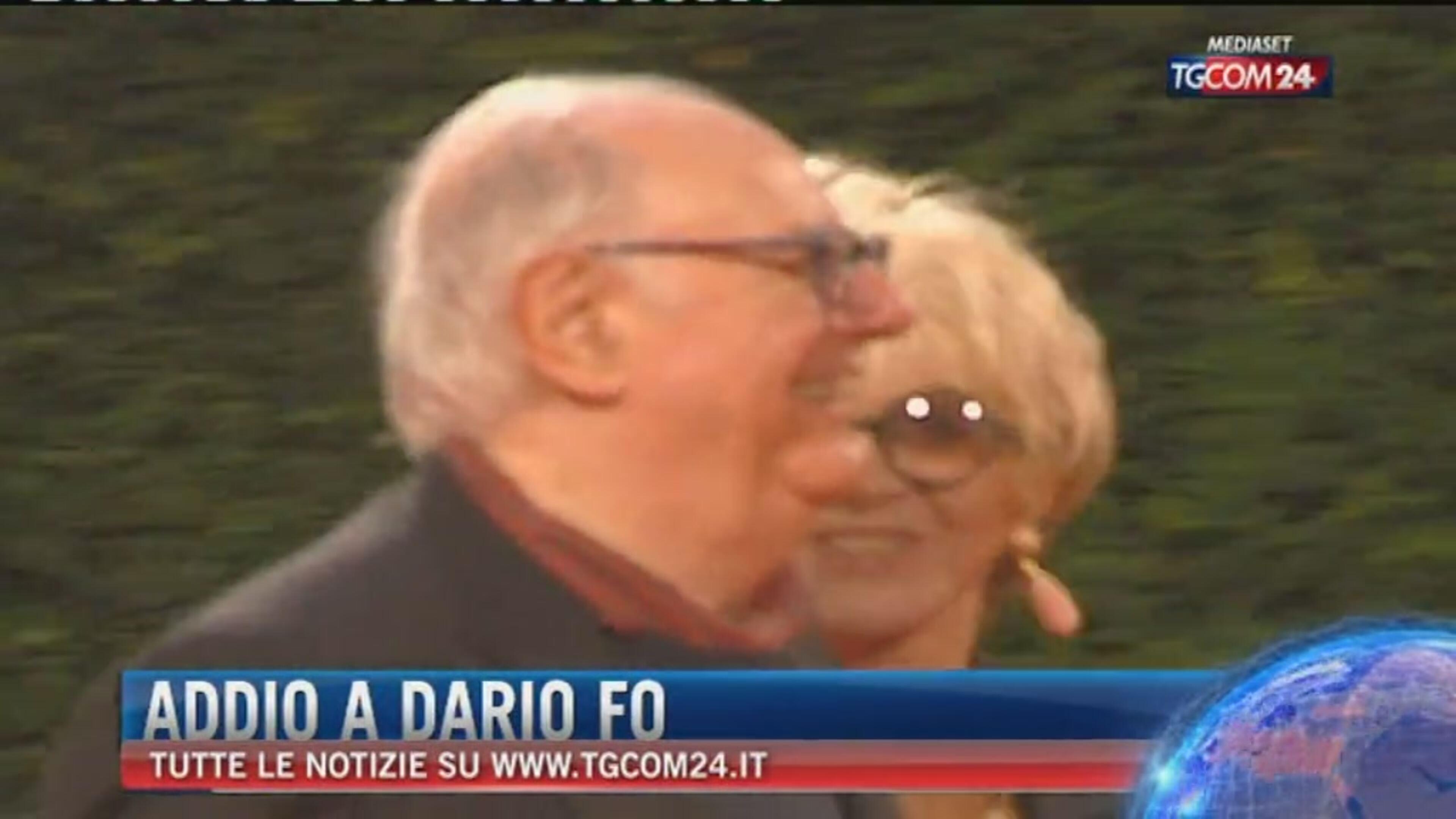 Addio a Dario Fo