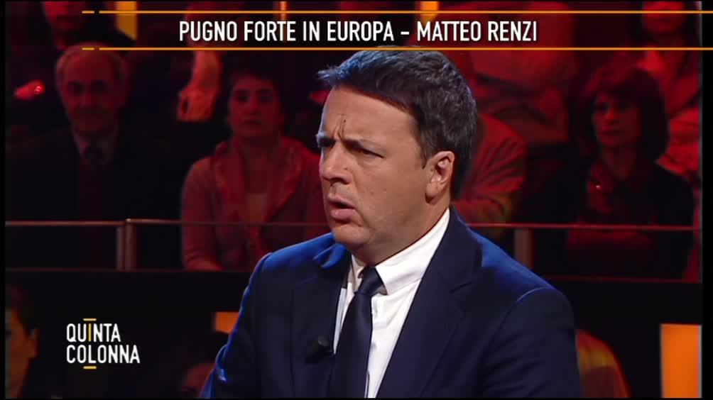 """Renzi: """"Pugno forte in Europa"""""""