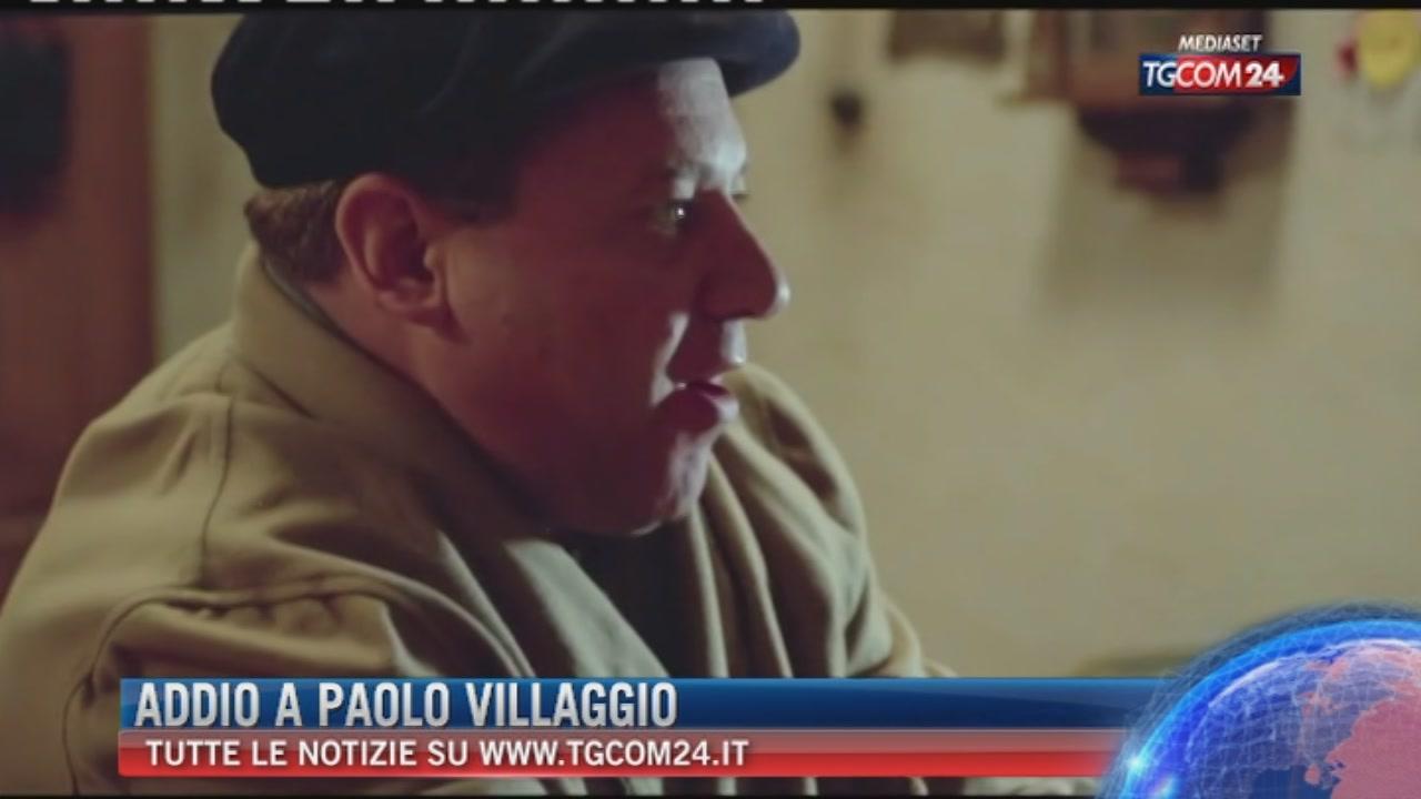 Addio a Paolo Villaggio