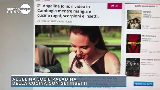 La scorpacciata di Angelina Jolie