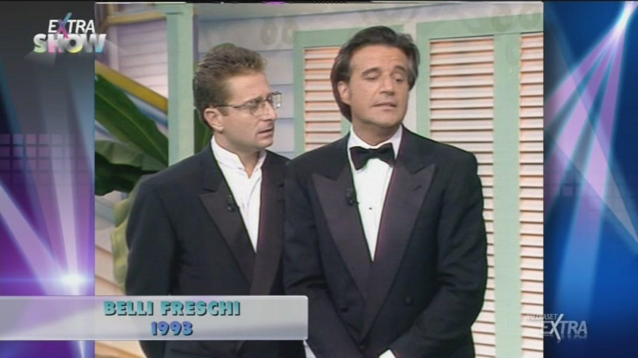 Paolo Bonolis e Cristian De Sica