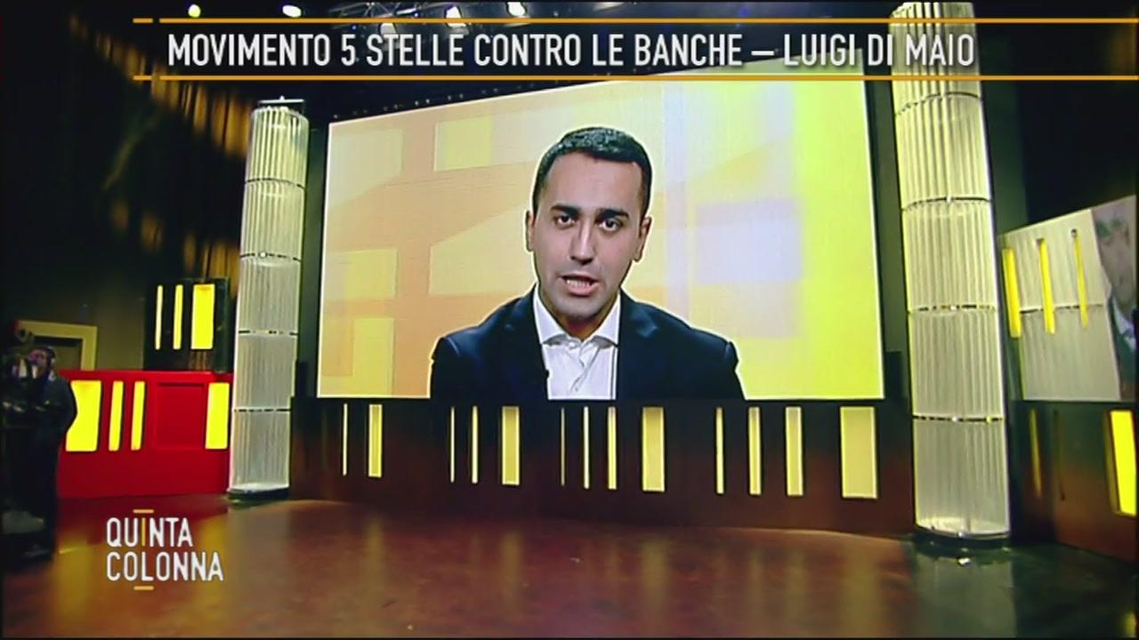 Luigi di Maio, le banche e i vitalizi