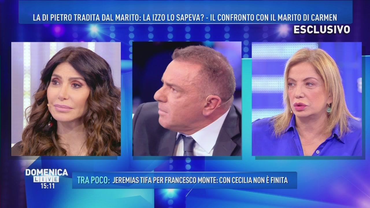 Carmen Di Pietro attacca ancora Simona Izzo