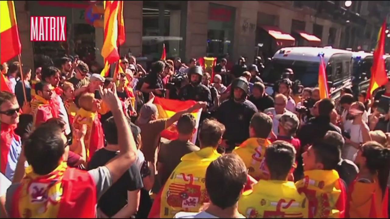 Manifestazione degli unionisti