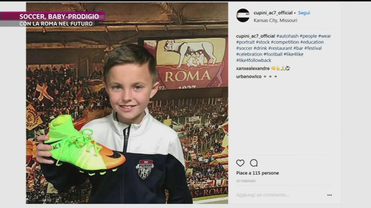 Un baby-Ronaldo per la Roma
