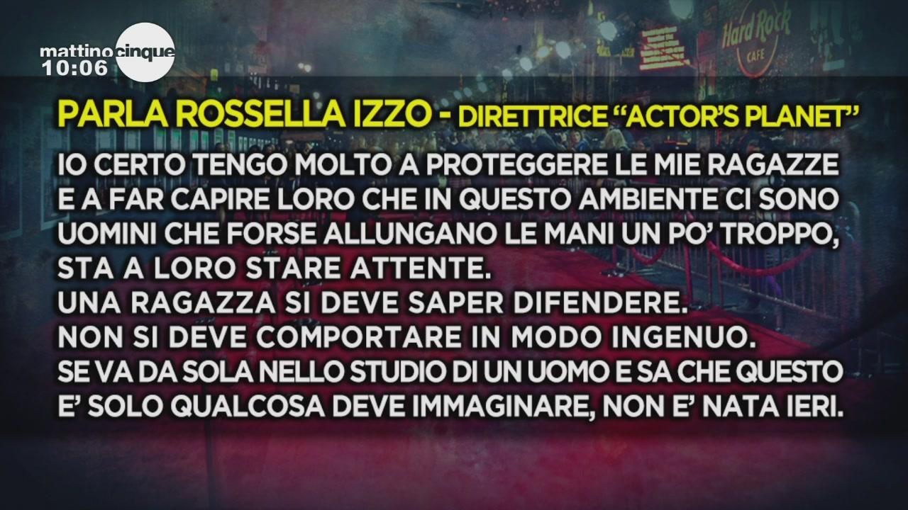 Scandalo Fausto Brizzi: parla Rossella Izzo