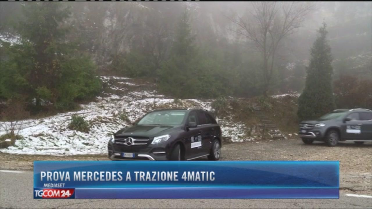 Prova Mercedes a trazione 4Matic