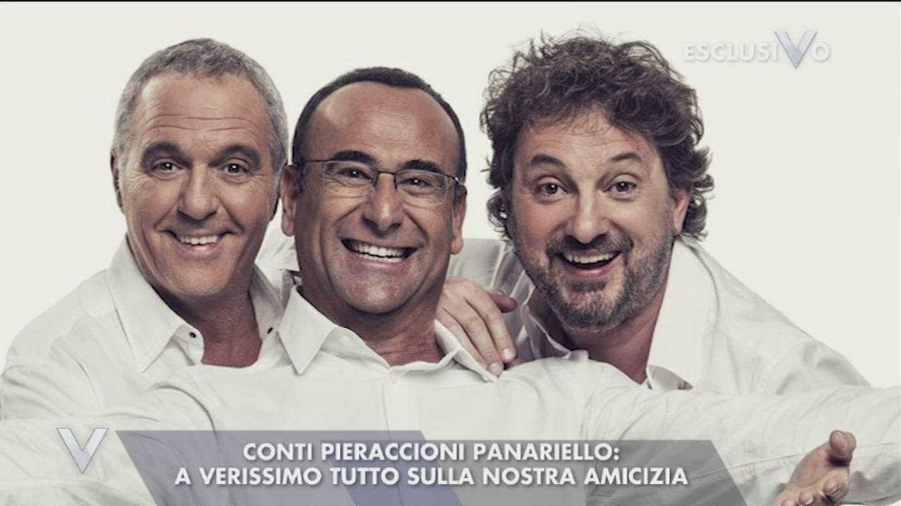 Carlo Conti, Giorgio Panariello e Leonardo Pieraccioni