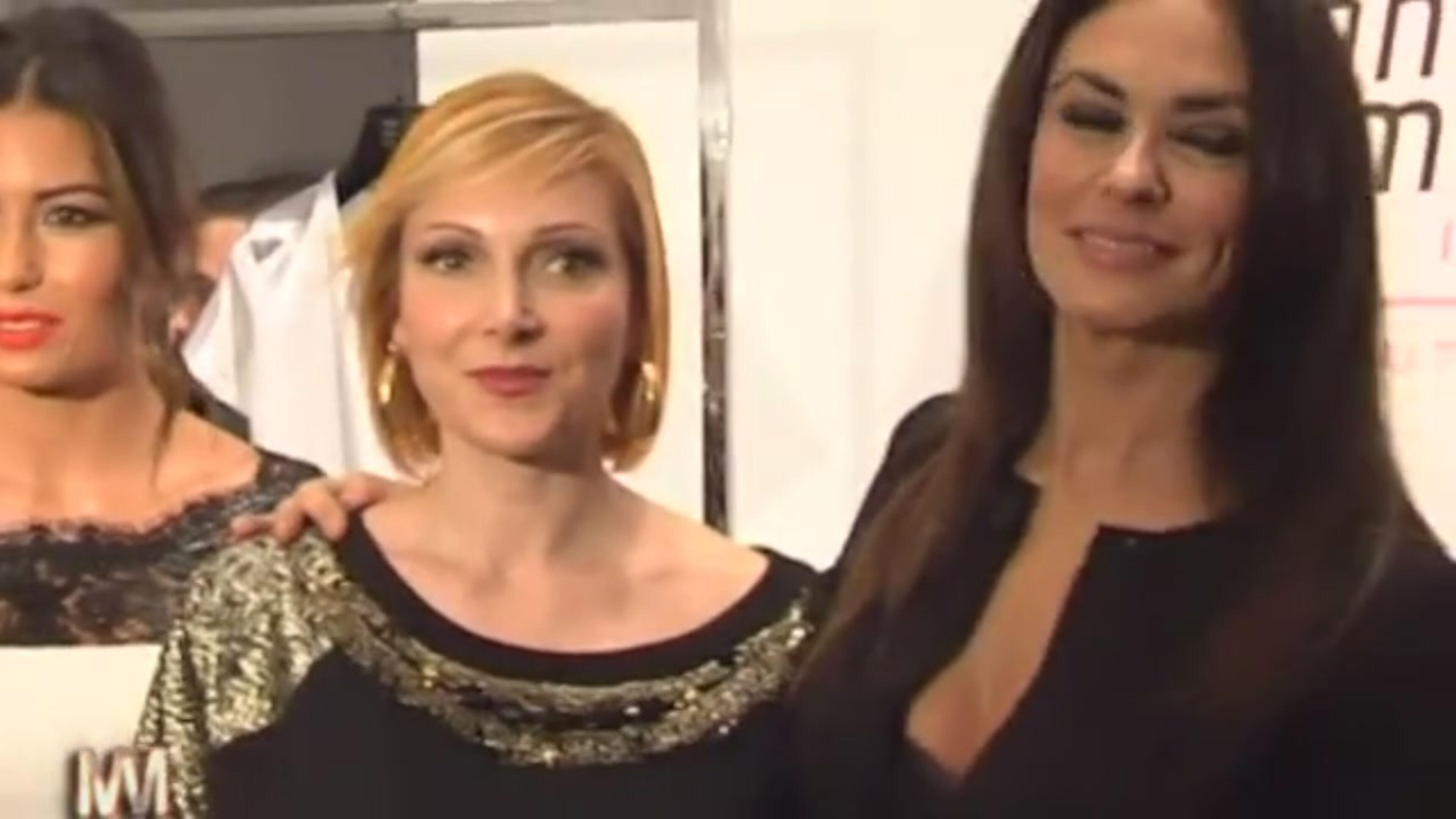 Maria Grazia Severi e Maria Grazia Cucinotta insieme per le donne