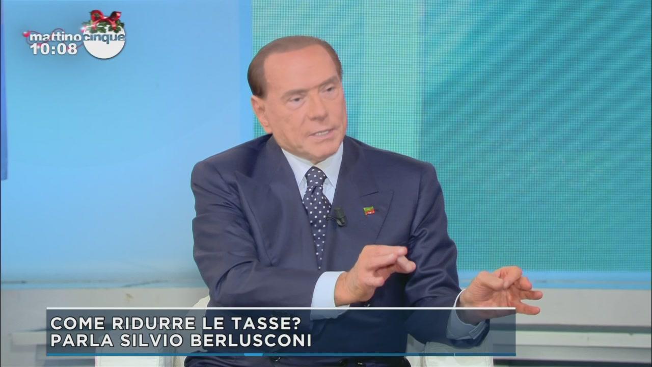 Berlusconi: Le tasse e la riorganizzazione dello Stato