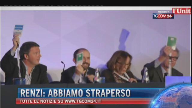 Il Pd propone il Mattarellum. Renzi, no a una resa dei conti al prossimo Congresso