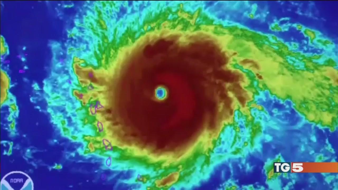 L'uragano mostro spaventa i Caraibi