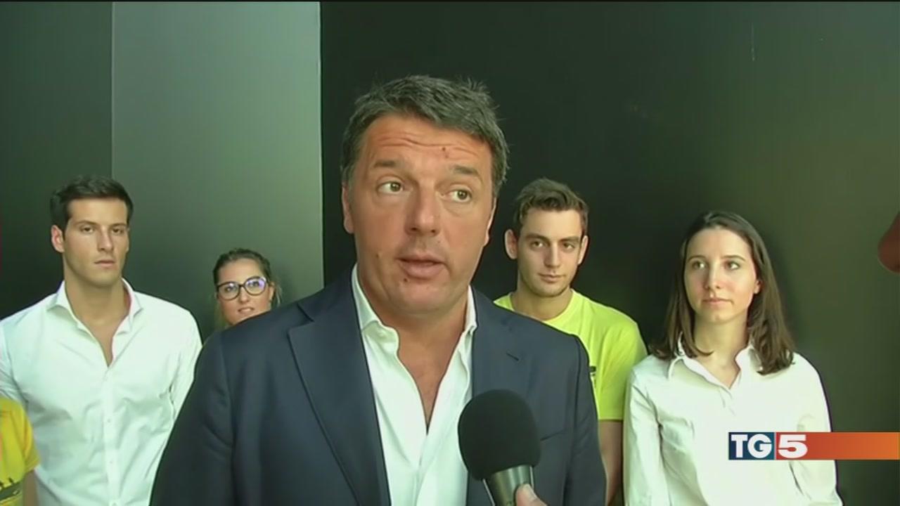 Renzi, scandalo Consip nato per colpire il Pd