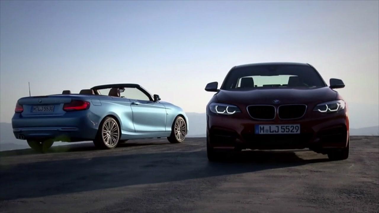 Nuove BMW Serie 2 Coupé e Cabrio