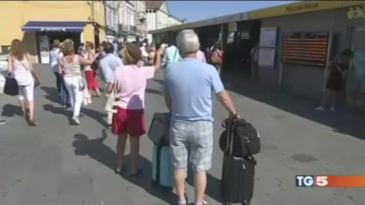 La Serenissima assediata dai turisti