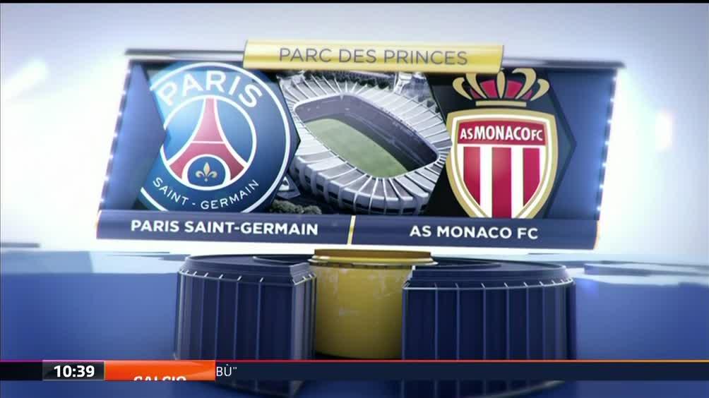 Paris Saint Germain-As Monaco FC 0-2