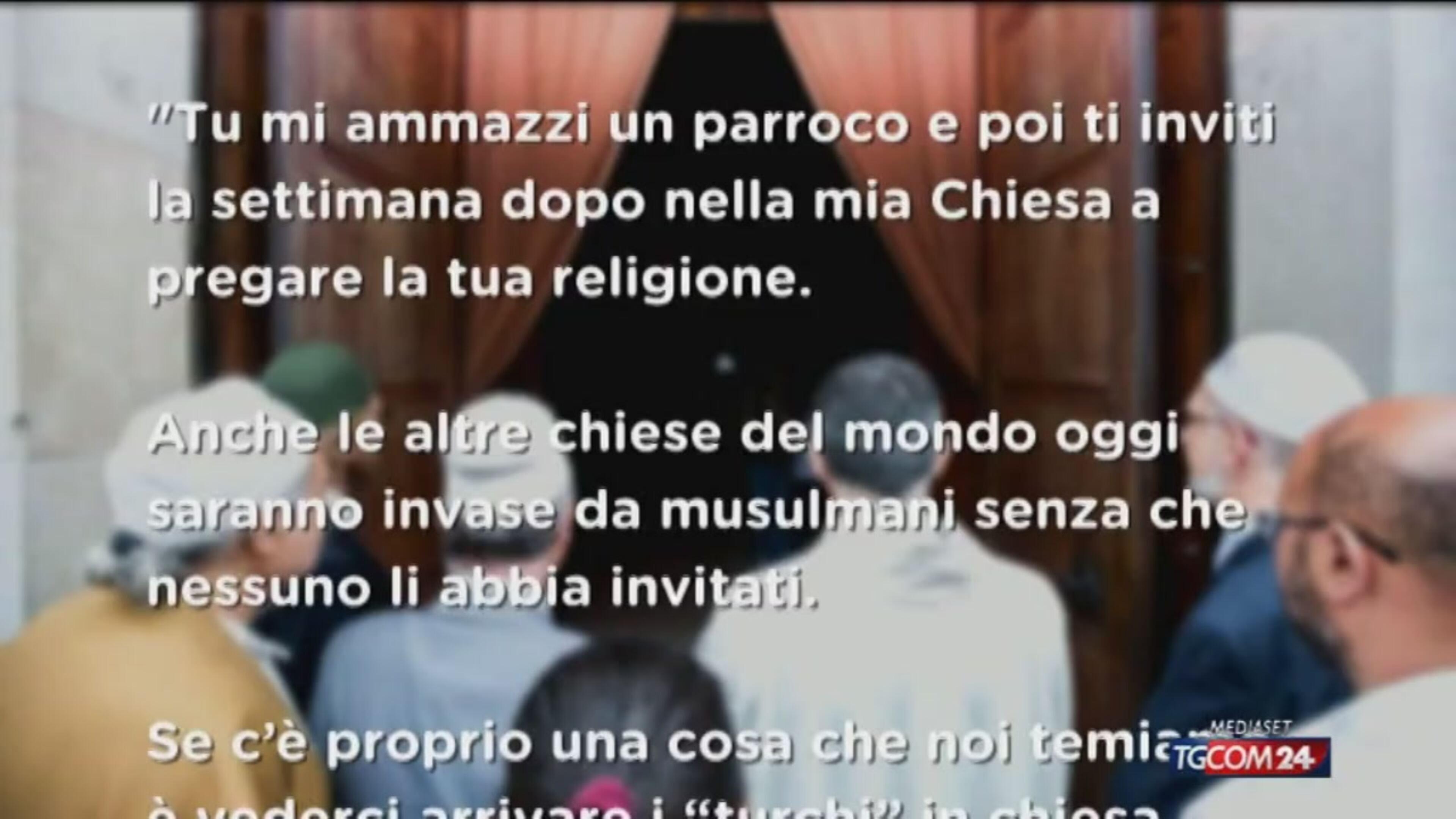 """Musulmani in chiesa, un prete cattolico: """"Ennesimo atto di prepotenza"""""""
