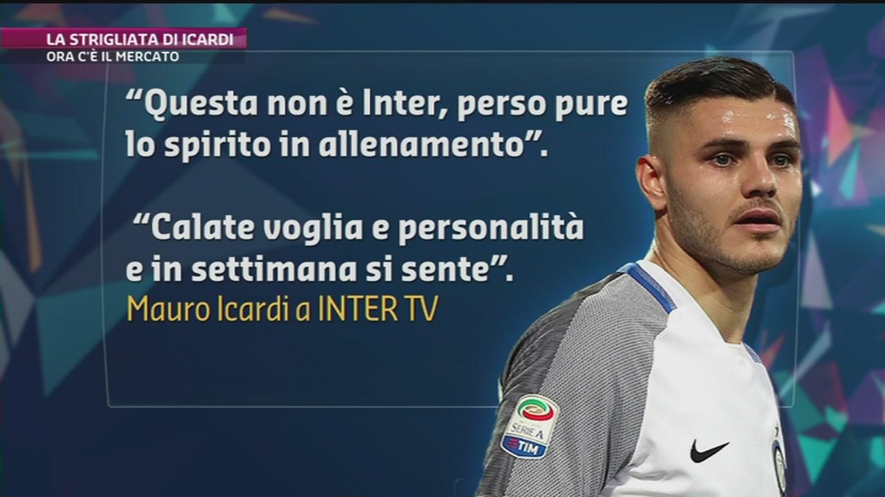 Inter, la strigliata di Icardi