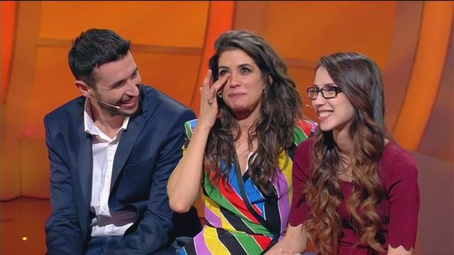 Le lacrime di Giulia Michelini