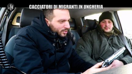 PECORARO: Cacciatori di migranti in Ungheria