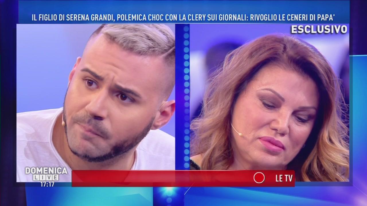 Serena Grandi ed Edoardo