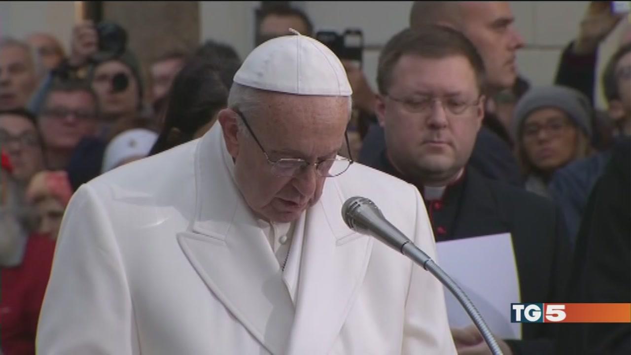 Il Papa a Piazza si Spagna