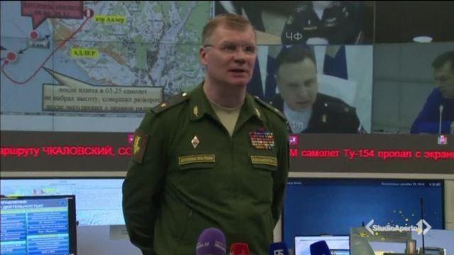 Russia, aereo precipita nel Mar Nero