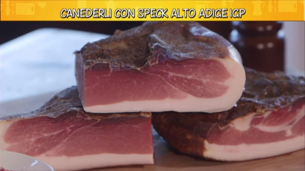 Lo speck Alto Adige Igp