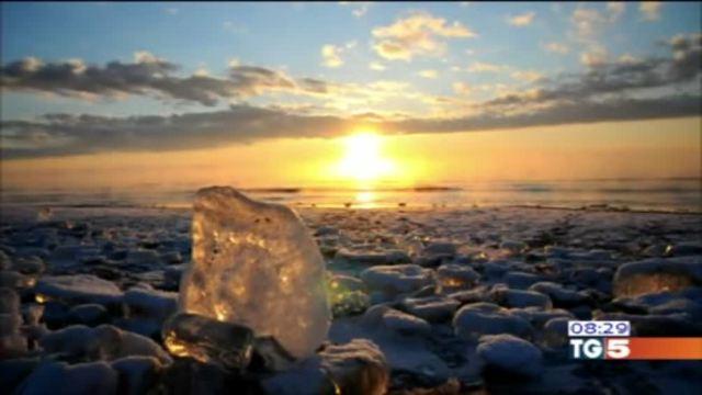 Una miniera di gioielli di ghiaccio