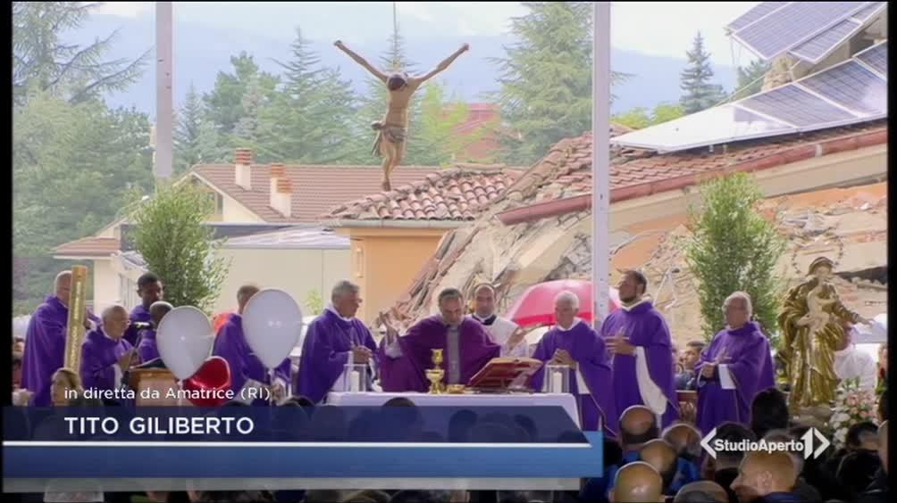 Amatrice, i funerali delle vittime del terremoto