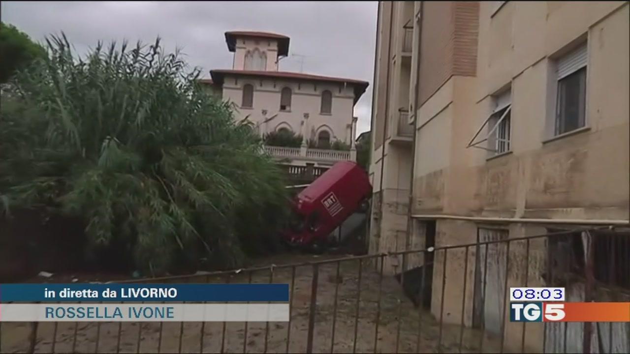Alluvione Livorno, ancora un disperso