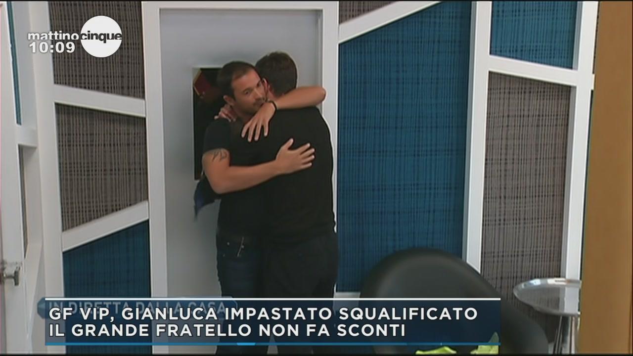 GF Vip 2: la squalifica di Gianluca Impastato