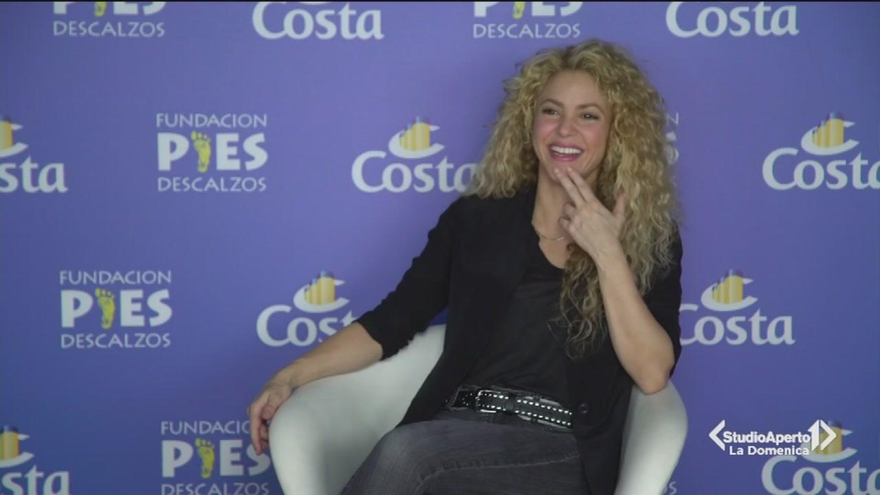 Shakira scende in campo per i bambini della Colombia
