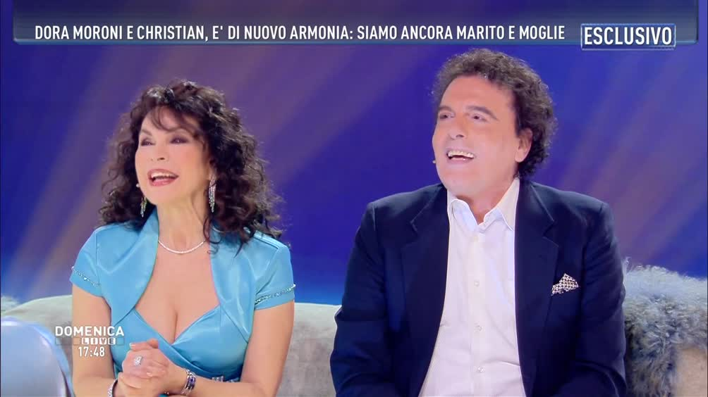 Dora Moroni e Christian: è di nuovo armonia