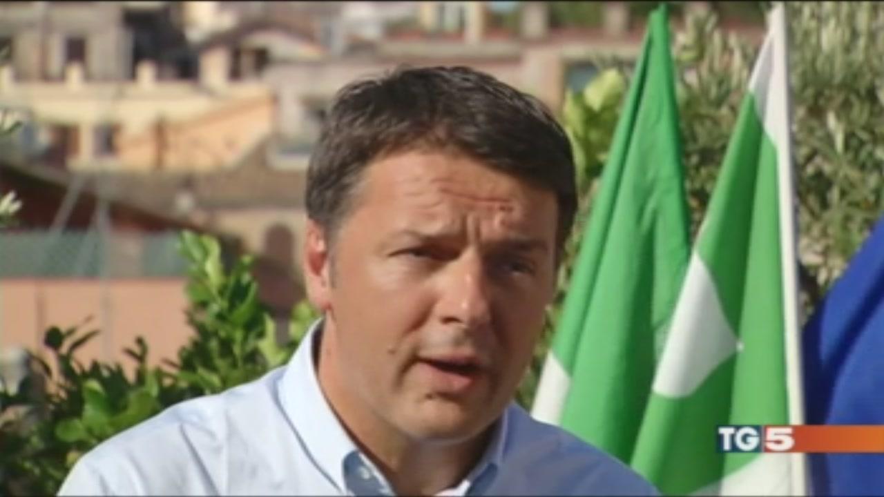 Renzi: ora sui migranti serve il numero chiuso